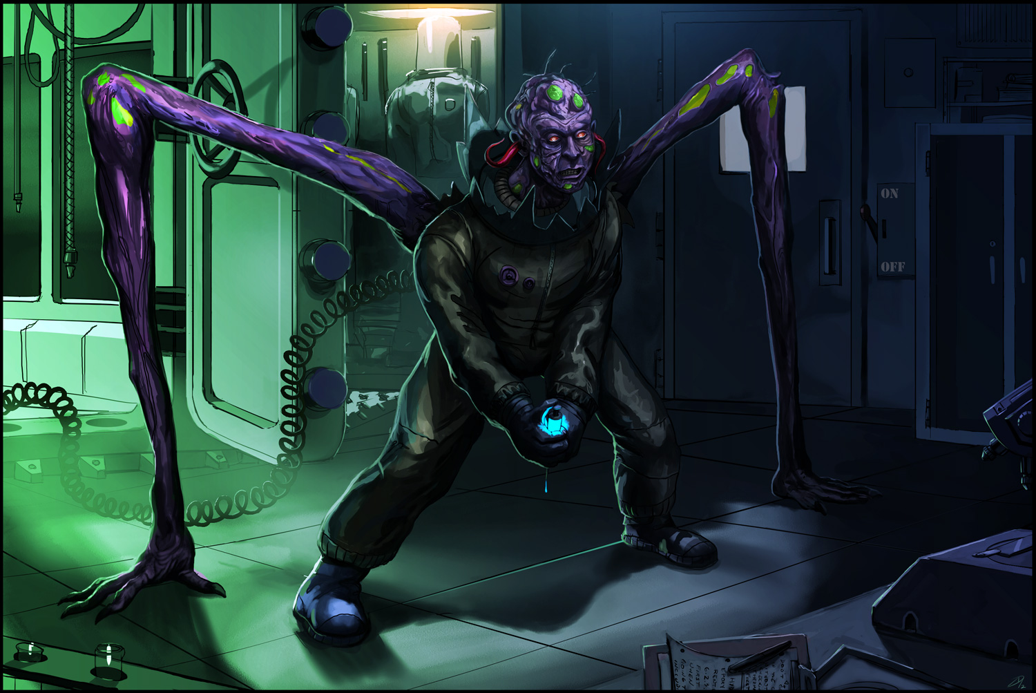 Infected-scientist-Final by Davesrightmind