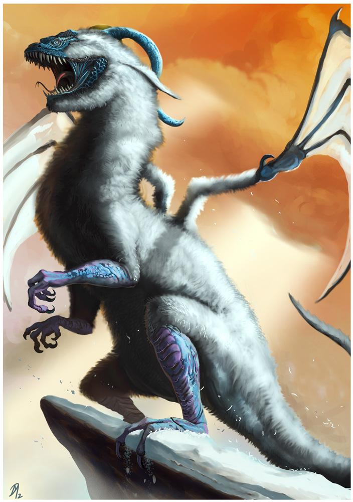 Fluff-Dragon by Davesrightmind