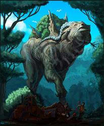 Rainforest God Final by Davesrightmind