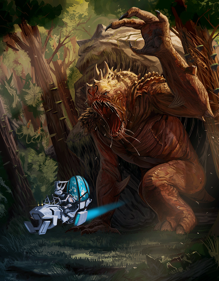 Rancor Redo By Davesrightmind On Deviantart