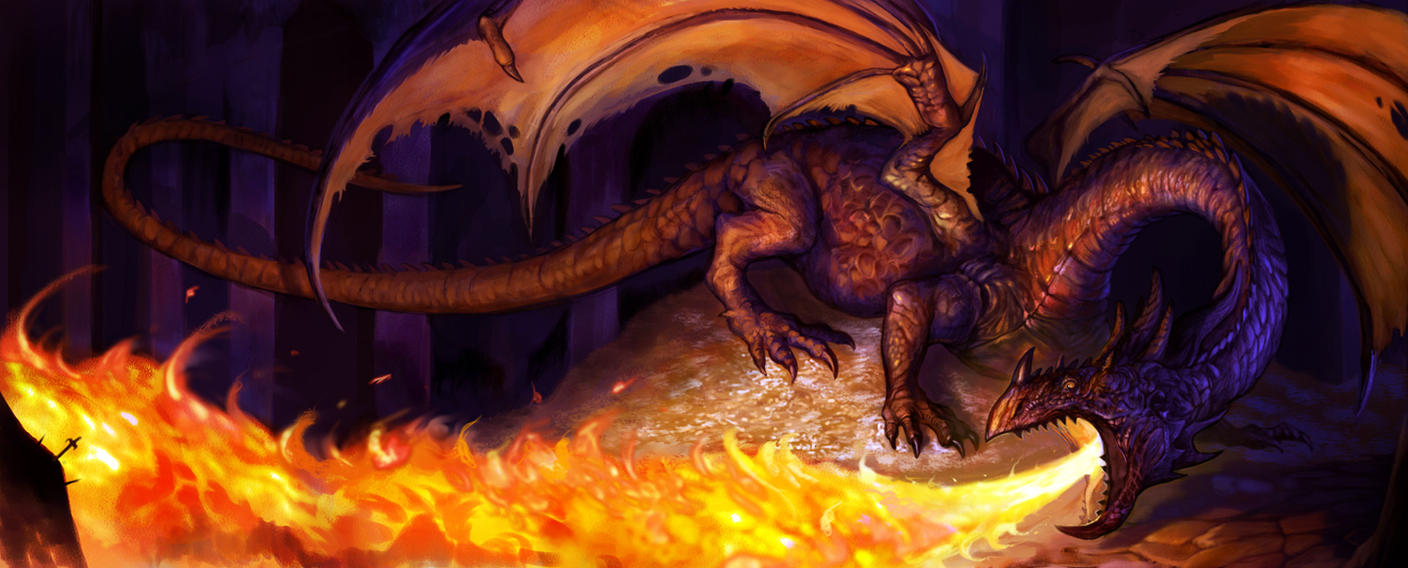 Smaug 2 by Davesrightmind