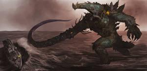 My Kaiju by Davesrightmind