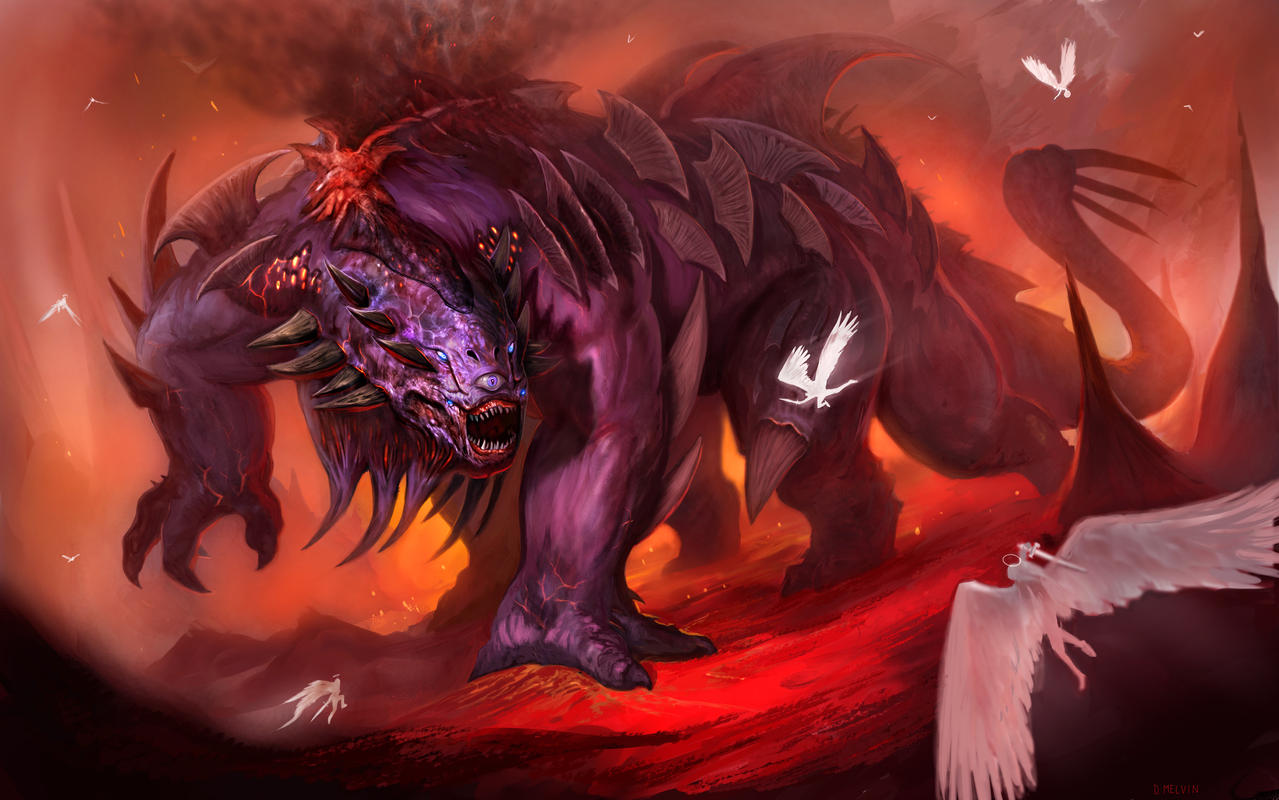 Hellish-War-Beast-Final-large by Davesrightmind