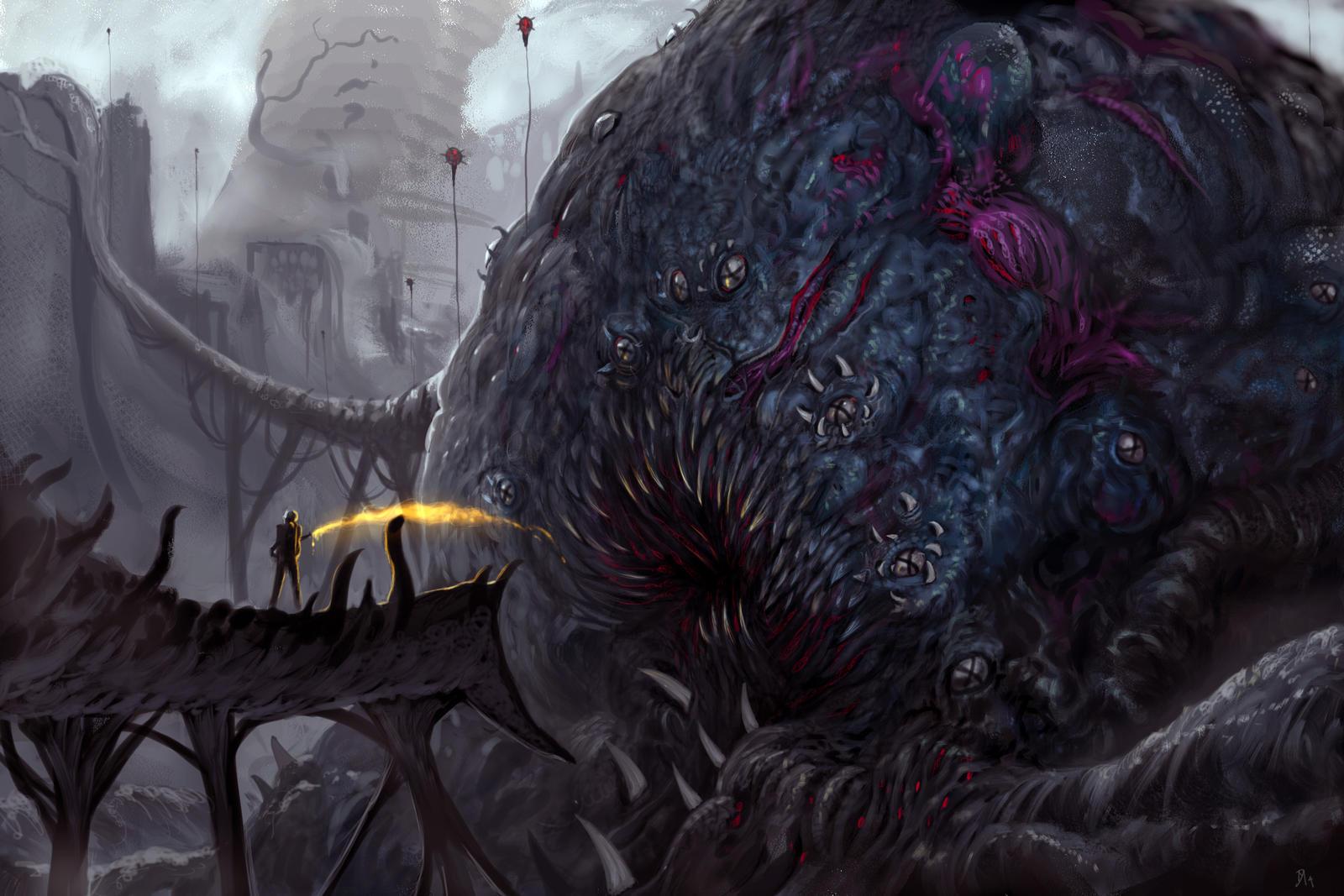 Parasite by Davesrightmind