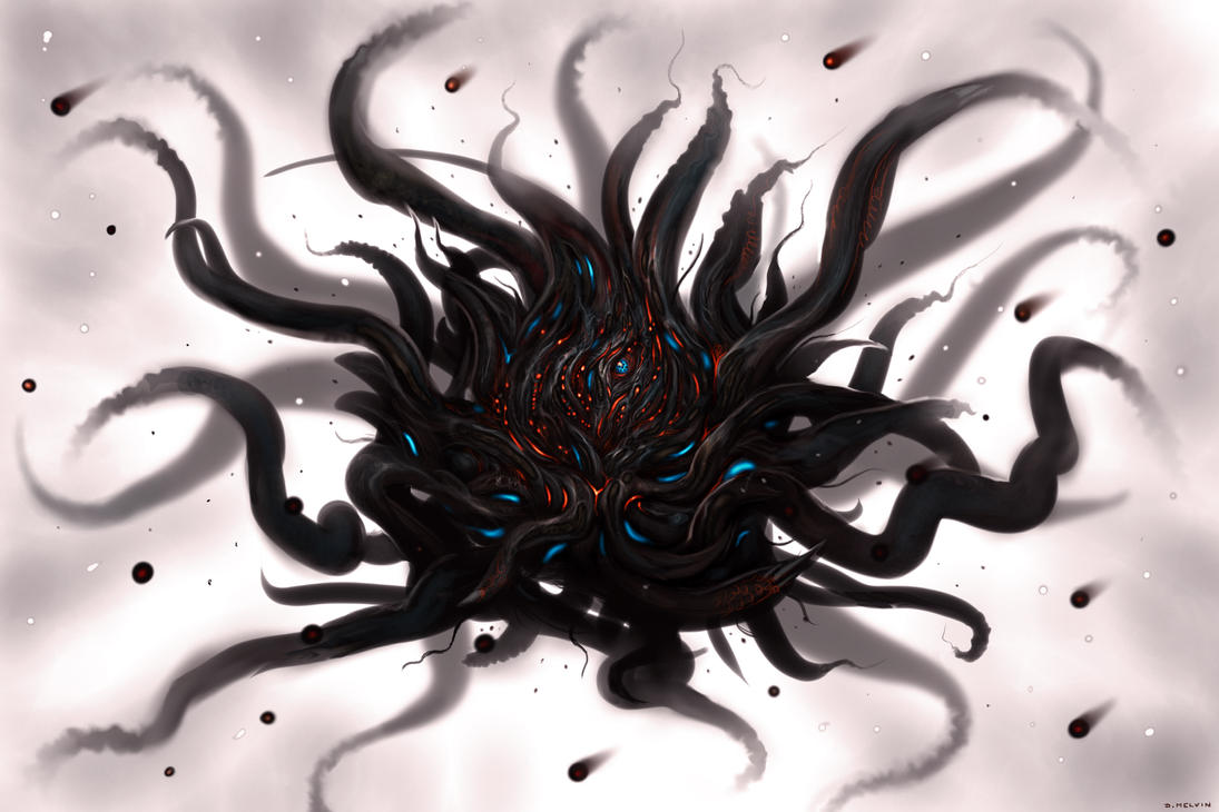 Yog-Sothoth by Davesrightmind