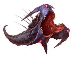 Metroid-Prime-Dark-Blogg by Davesrightmind