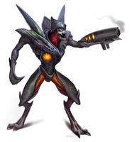 Metroid-Prime-Grenadier by Davesrightmind