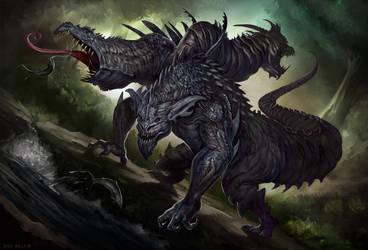 Black-Dragon-Final- by Davesrightmind