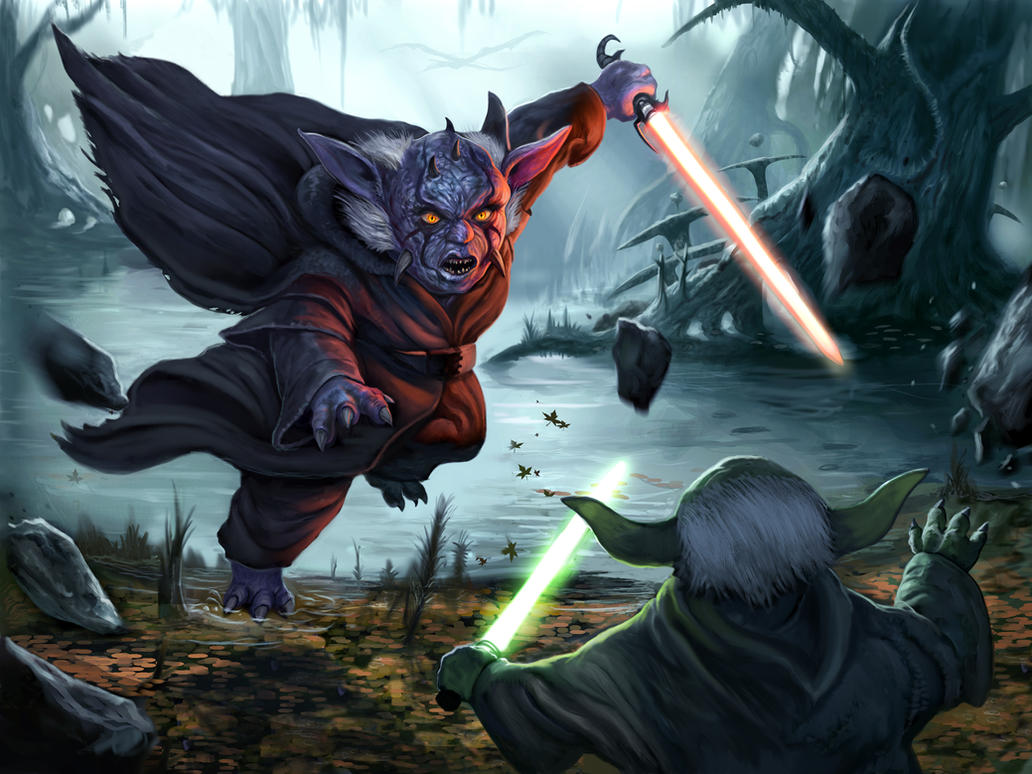 Yegda-Sith by Davesrightmind