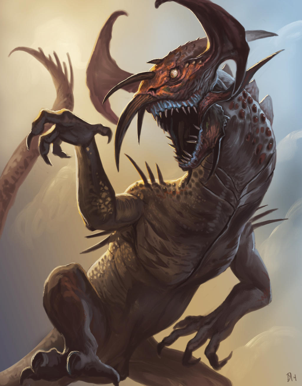 Goblin-Dragon by Davesrightmind