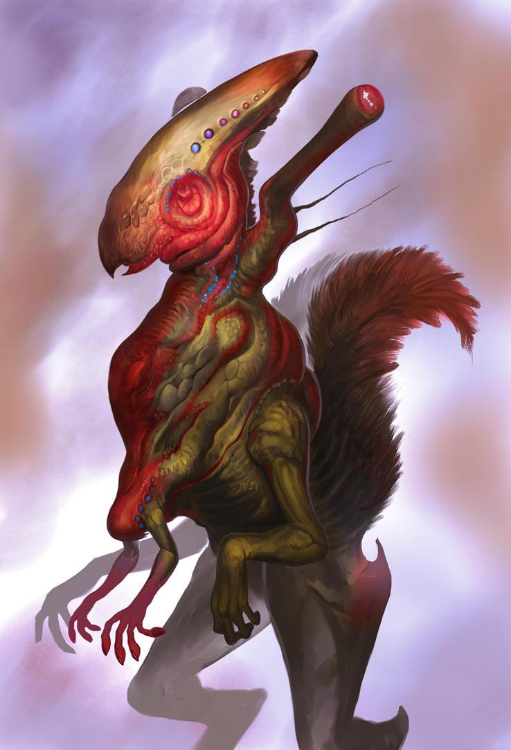 Squirrelien by Davesrightmind