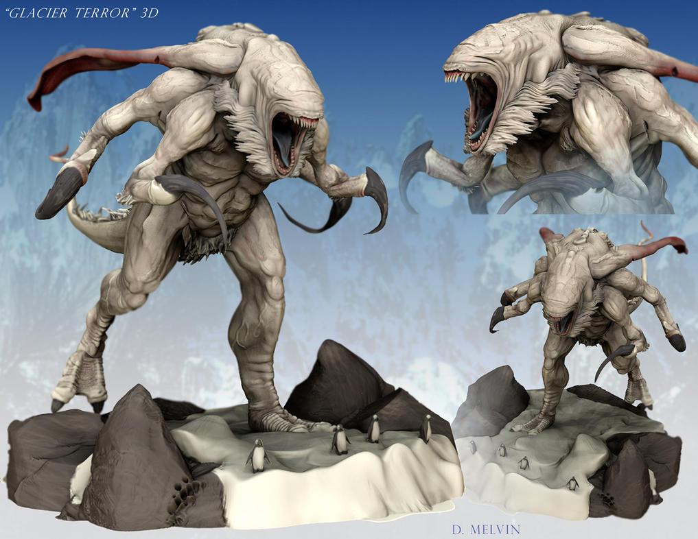 Glacier-Terror-3D-Comp by Davesrightmind