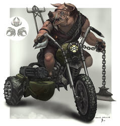 Medium-Pig-Guy by Davesrightmind