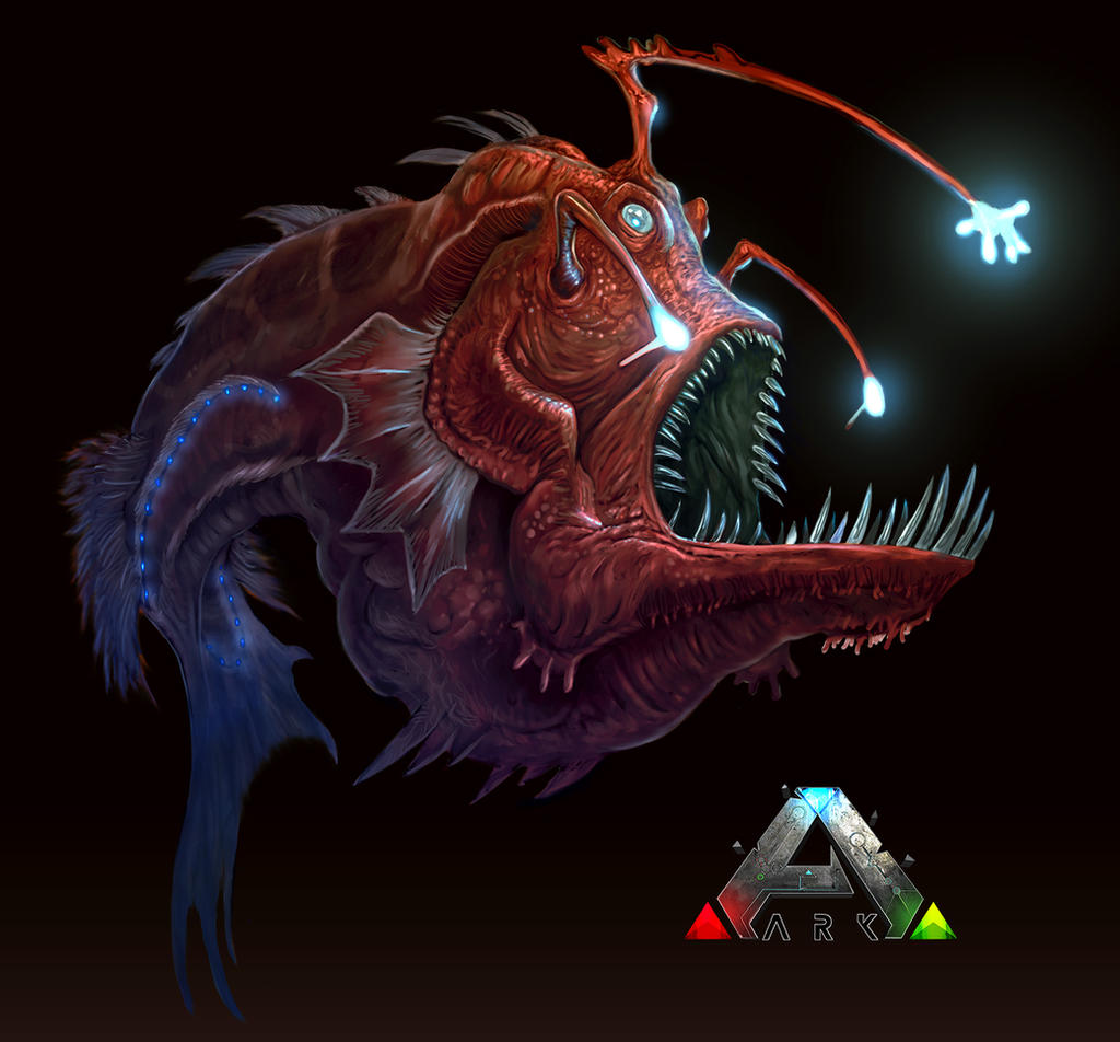 Ark angler final by davesrightmind on deviantart for Angler fish ark