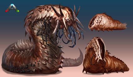 Ark-Deathworm-Final by Davesrightmind
