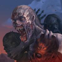 Alpha-Zombie by Davesrightmind