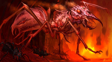 Hell-Ant-x2 by Davesrightmind