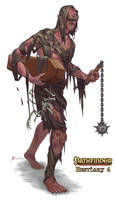 Pathfinder Bestiary 6 Plague Giant by Davesrightmind