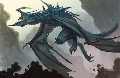 Legendary-Air-Dragon by Davesrightmind