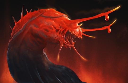 Demonic-Slug-Sketch