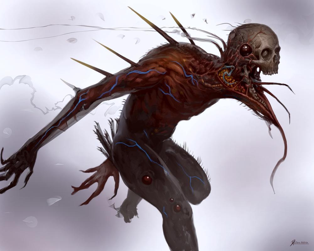 Parasite-Hostess by Davesrightmind
