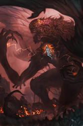 Birth-of-an-Archangel by Davesrightmind