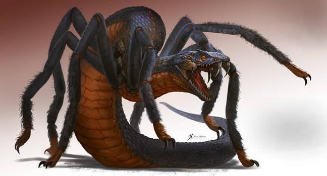 Tarantuviper by Davesrightmind