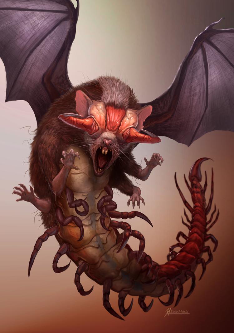 Venomous-Ratbatipede by Davesrightmind