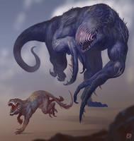 Wave-Assault-Beasts by Davesrightmind