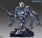 Starfinder Azlanti Robot by Davesrightmind