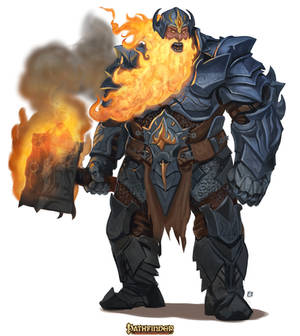 Pathfinder-Fire-Giant-Chieftan