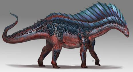 Amargasaurus-2 by Davesrightmind