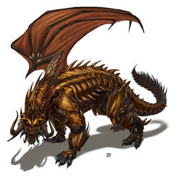 Armored-Infernal-Dragon