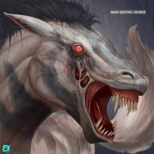 Man-Eating-Horse