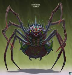 Fiendish-Spider