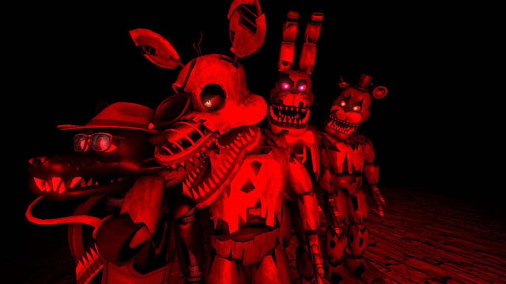 [SFM FNaF] Attack of The Nightmares! by WorldofGaming17