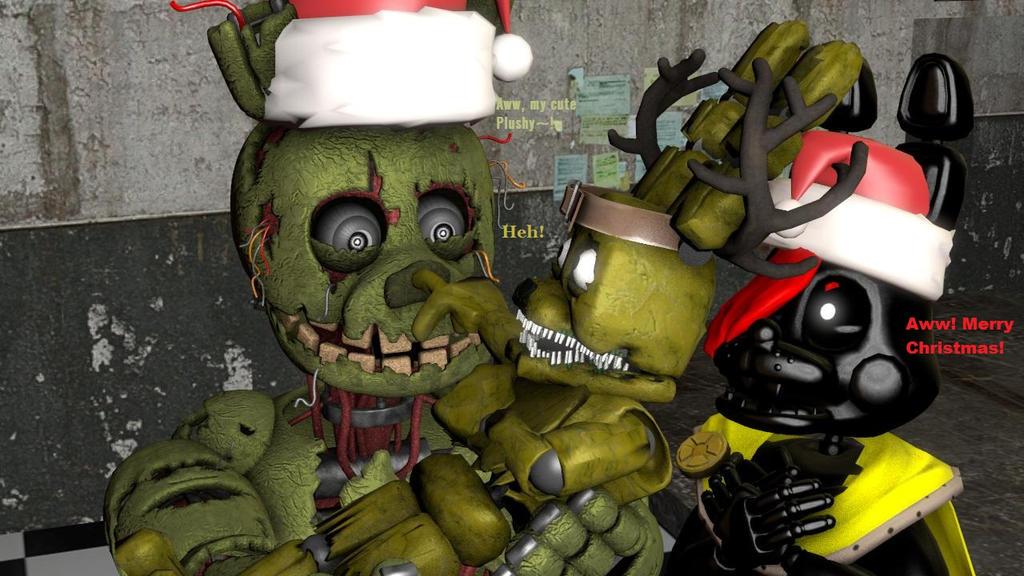 [SFM] Kinga, Springy, and Plushy- Christmas Family by WorldofGaming17