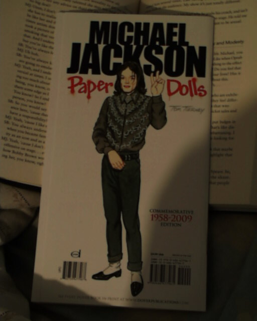 mj paper doll by filmcity