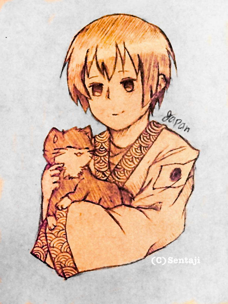 Japan hetalia by sentaji