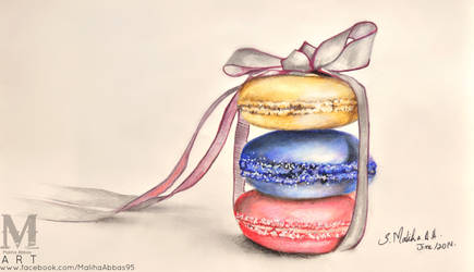 Maliha's Art Macaroons by MalihasArt