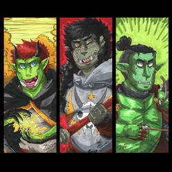 Orcs by Gomis