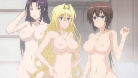 Kazehana, Tsukiumi and Musubi from Sekirei by LordGalvatron