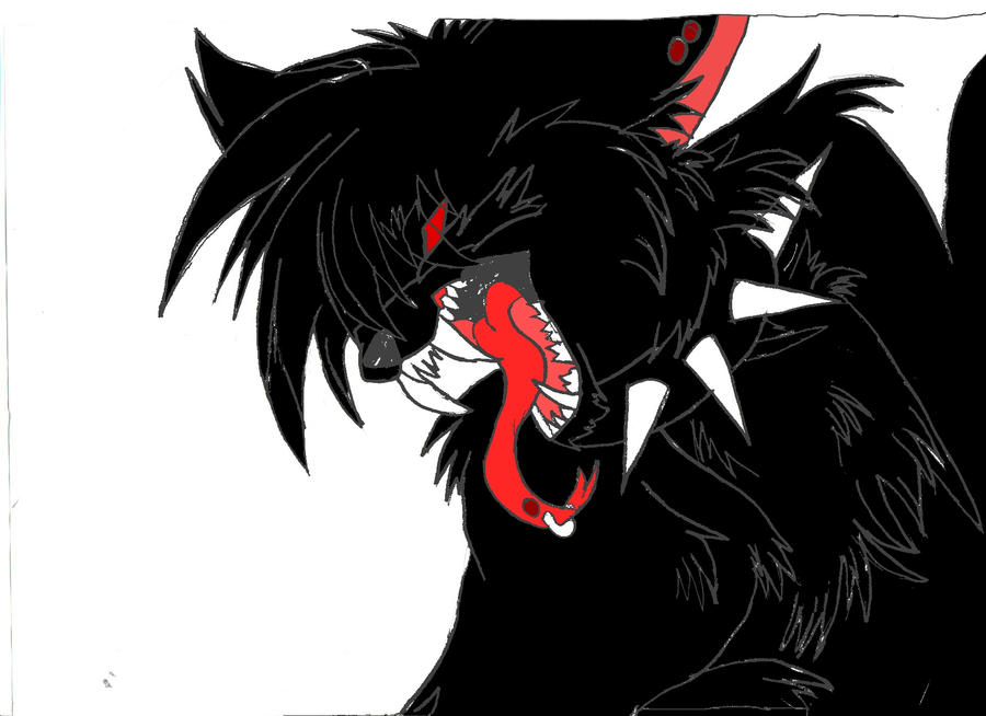 demon shadow by ShadowEMOWolf on deviantART