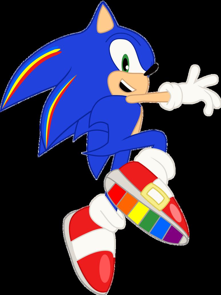 Rainbow Rocks - Sonic the Hedgehog by cooleevee759