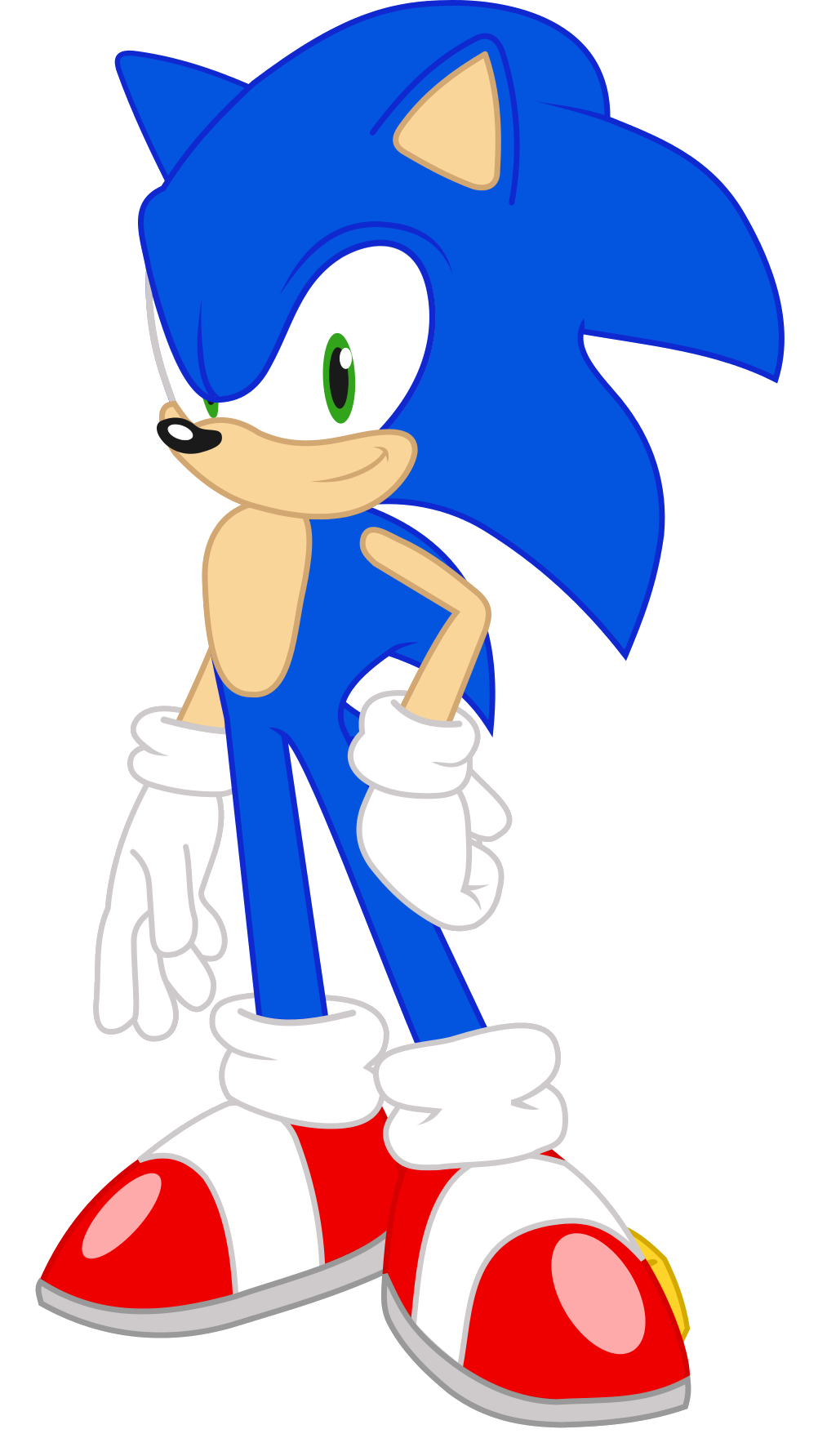 Sonic Equestria Vector Sonic The Hedgehog By Sonicdash759 On Deviantart