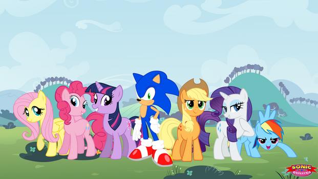 Sonic Equestria Wallpaper