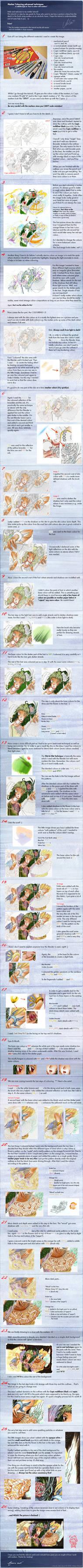 Marker Colouring :advanced: