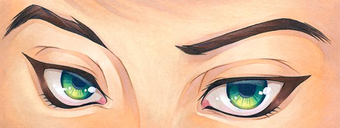 Just Eyes by KiwiChameleon