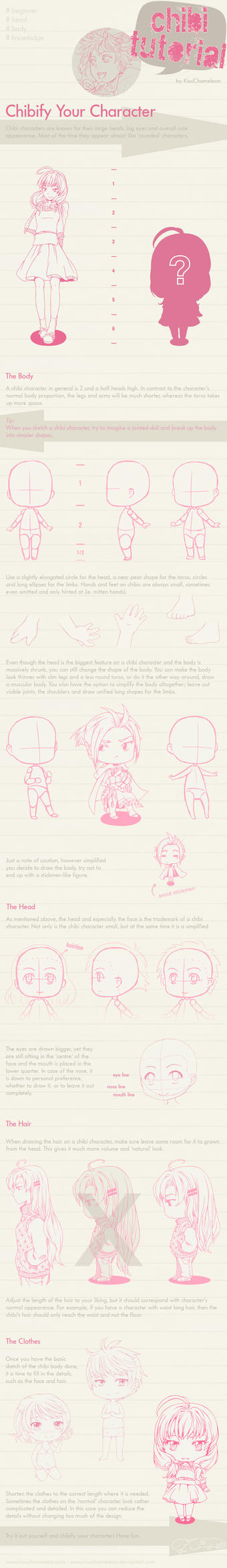 Chibify Your Character - Tutorial by KiwiChameleon