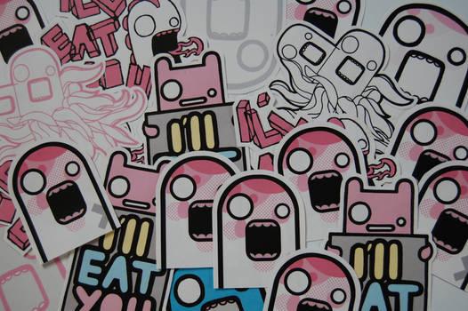 Stickers...